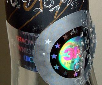 Brand protection Hologram Label