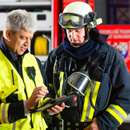 Fire brigade photo
