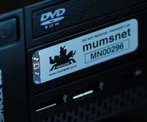 Photo of Asset Labels for Computers