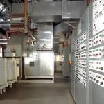 Taggin equipment in a plant room
